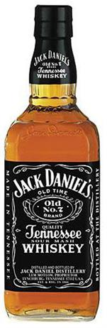 Jack Daniels Whiskey Sour Mash Old No 7 Black Label